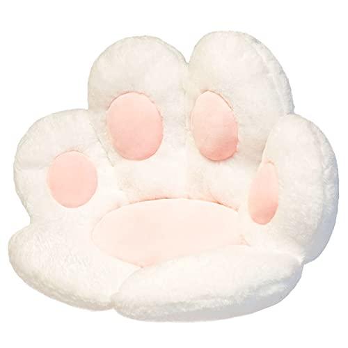 Cat Claw Bear Claw Chair Cushion, Lazy Sofa Seat Cushion, Ground Soft Blanket, Soft and Warm Bear Claw-Shaped Chair Cushion, Plush Comfortable seat Cushion (60×70 cm)。