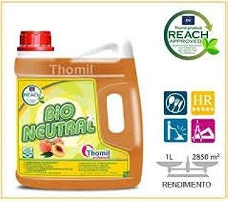 comprar comparacion Thomil Bio Neutral FREGASUELOS Neutro Aroma Melocotón .FREGASUELOS Neutro Aroma Melocotón garrafa 4L