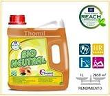 Thomil Bio Neutral FREGASUELOS Neutro Aroma Melocotón .FREGASUELOS Neutro Aroma Melocotón garrafa 4L