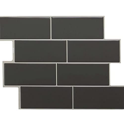 WYDMBH Paneles de Pared de PVC 5 unids Etiquetas de Pared de la Pared de la imitación 3D Pósteres de Pared Interior autoadhesivos Fondo de Pared de Fondo de Papel Tapiz for televisor Sala