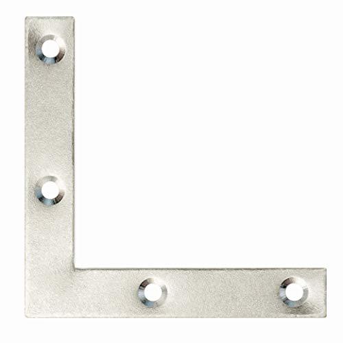 100x Shelf Support Eckwinkel Winkelhalterung 90 Grad Kunststoff Eckverbinder