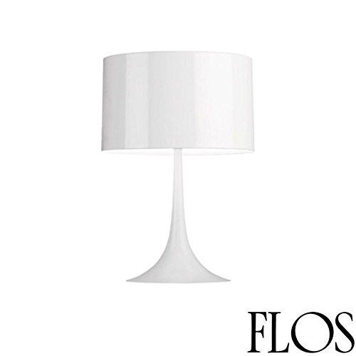 Flos Spun Light T2 Lampe de table blanc brillant