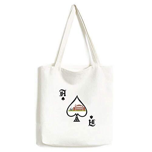 Samara Russland National Symbol Muster Handtasche Craft Poker Spaten waschbare Tasche