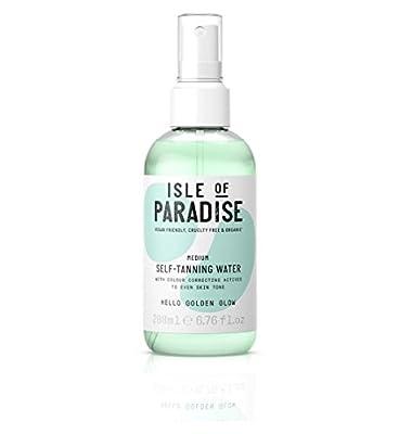 Isle of Paradise Self-Tanning Water Medium - Golden Glow Full Size