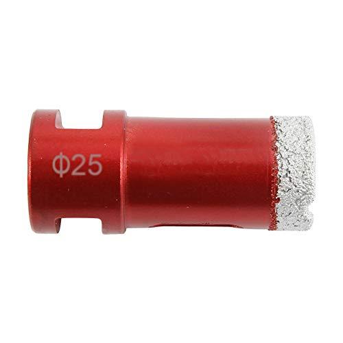 ToPicks Dry Diamond Drill Core Bit Diameter 25mm Angle Grinder Hole Saw Opener M14 Thread for Tile Porcelain Granite Marble