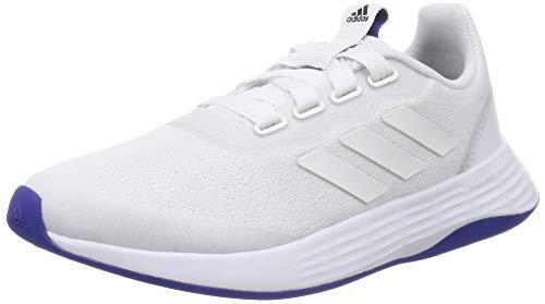 adidas QT Racer Sport, Zapatillas de Running Mujer, FTWBLA/FTWBLA/SEMDES, 37 1/3 EU