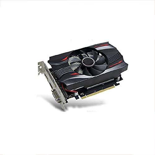 SYFANG Fit for Yeston RX560D GPU 4GB GDDR5 TA 128Bit Tarjetas gráficas para Juegos Computadora de Escritorio Juegos VGA/DVI-D/HDMI-Compatible PCI-E 3.0