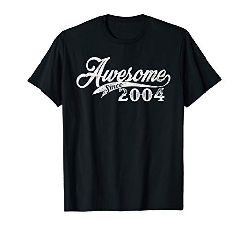 Awesome Since 2004 Born In 2004 T-Shirt