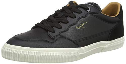 Pepe Jeans London Herren Kenton ORIGINAL LTH Man Sneaker, 999BLACK, 42 EU