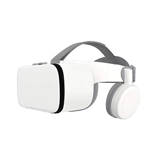 HKJZ SFLRW Auriculares VR, Auriculares de Realidad Virtual protegidos por los Ojos, Gafas VR para teléfono para iPhone y Android