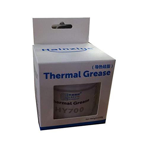 MoneyQiu HY-700(50Gramm)> 3.14 W/m.K,Waermeleitpaste/Wärmeleitpaste Hochleistungs-Wärmeleitpaste für alle Kühler - Hohe Wärmeleitfähigkeit mit Niedriger thermischer Widerstand