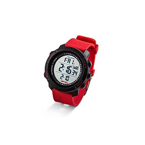 Skoda 3U0050800A Armbanduhr Monte Carlo Uhr Chronograph, schwarz/rot