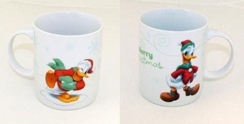 Unbekannt Zauberhafte Noël Disney Tasse Daisy Donald Duck Mickey Mouse Minnie Mouse Gobelet Neuf - 1x Donald Duck Tasse