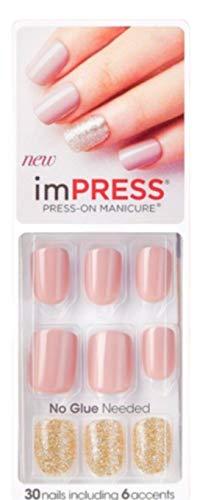 Kiss imPress Press-On Manicure Nails # 58065 So So Stellar