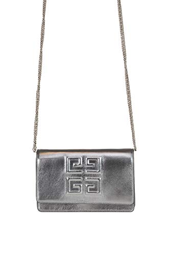 Givenchy Luxury Fashion Donna MCGLBRE000006057I Argento Borsa A Spalla | Stagione Outlet