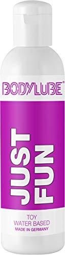 BODYLUBE® JUST FUN | Gleitgel auf Wasserbasis speziell für Toys | Premiumqualität (500 ml)