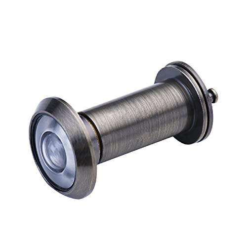 ZHANGJIAN 200 Grados Aleación Tamper Ajustable Cámara de Seguridad Cámara Optical Vidrio Casa Anti-Robo Ojo Video Puréfolo Fácil de Instalar (Color : Green Bronze, Fit Door Thickness : 40 55mm)