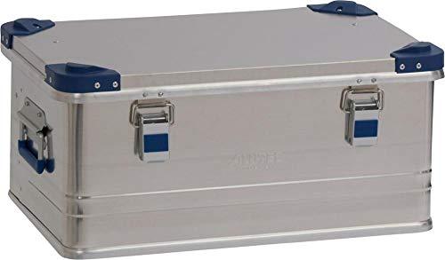 ALUTEC MÜNCHEN 2013048 Aluminiumbox Industry aus 1 mm starkem Alublech 582 x 385 x 277 mm, Silber