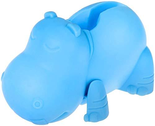 zyh Lindo Azul hipopótamo Protector de bañera Protector de bañera Extensor de Grifo de baño Protector de Grifo Extensor de Grifo (1 artículo)