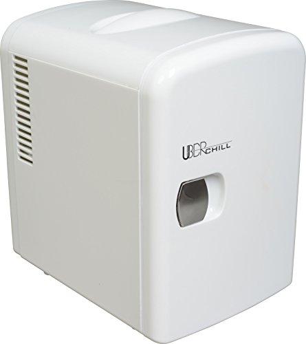 Uber Appliance UB-CH1-WHITE, Skin care, Beauty, Makeup, Cosmetics storage | Skincare Bedroom | portable mini fridge cooler and warmer