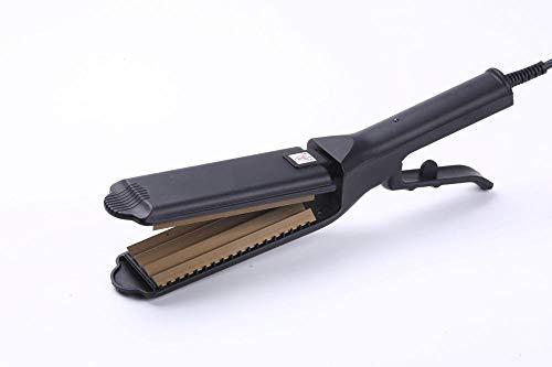 Haarverzorging, haarstijltang doet niet waai krulspelden thermostaat schaar kappersrail Maïs Noir (quatre dents)
