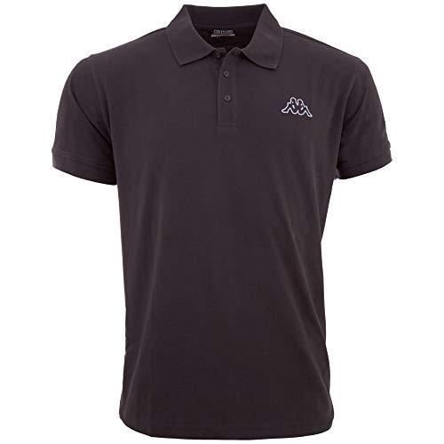 Kappa Herren Peleot Poloshirt, Asphalt, L