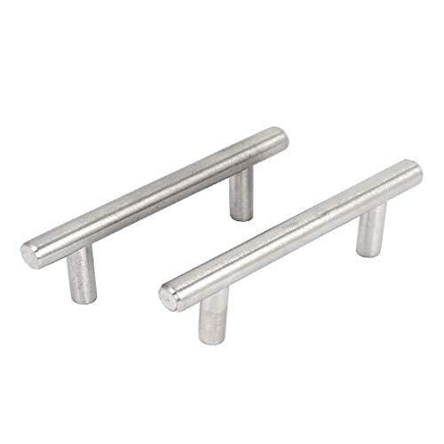 New Lon0167 2 piezas Destacados de hierro, cajón, eficacia confiable cajón, puerta, tirador, manijas, agarre, 96 mm de longitud(id:679 ca 60 0c4)