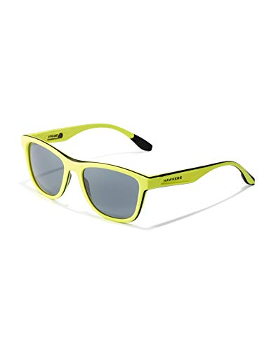 HAWKERS Hawkers-VR46 ACADEMY Yellow ONE SPORT sunglasses, TR18 UV400 Gafas, 50 Unisex adulto