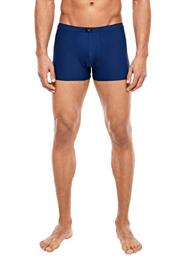 s.Oliver Herren Doppelpack Mikrofaser-Boxershorts blue uni & stripes 5