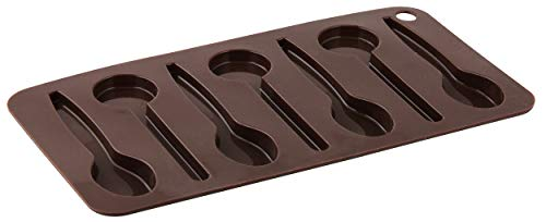 Zenker 43534 lepel, silicone, bruin, 23 x 13 x 2 cm