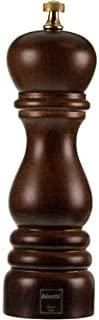 Bisetti BT-6151MST Roma Wood Salt Mill, 7.48-Inch, Walnut