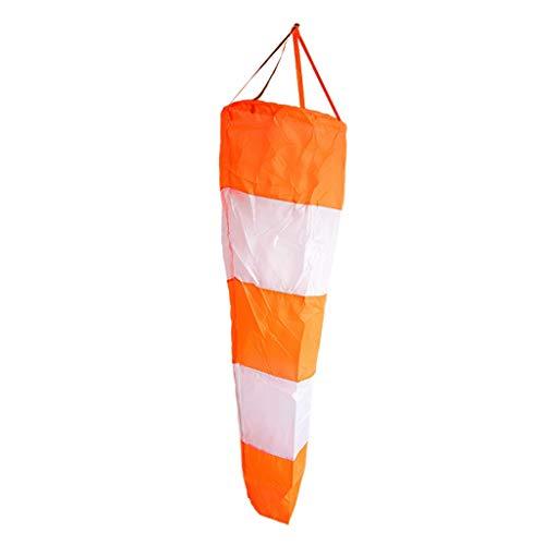 FLAMEER Garten Windsack Leuchtende Windsocke Windspiel Windfahne für Draußen oder Boot - 80cm