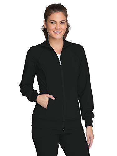 Cherokee Infinity 2391A Zip Front Warm-Up Jacket Black 2XL