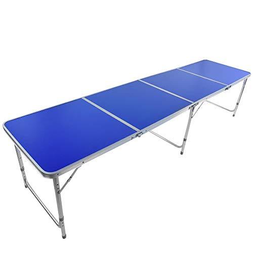 Cocoarm Beer Pong - Mesa plegable para camping, mesa de Beer Pong, mesa Beer Pong, diseño de 3 patas