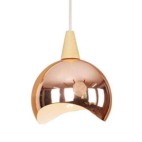 Lyuez energiebesparende creatief balkonlicht eenvoudige restaurant kristal paraplu kroonluchter single head cafe versierde plafondlamp decoratieve chroom-glazen lamp
