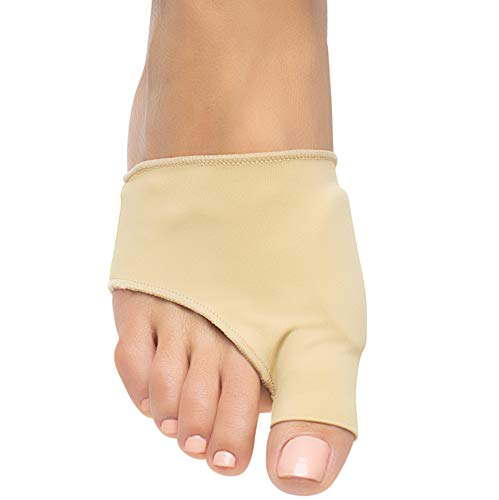 ZenToes Bunion Corrector and Bunion Relief Sleeve with Gel Bunion Pads - 1 Pair for Men and Women (Large, Women 7-12, Men 6-10)