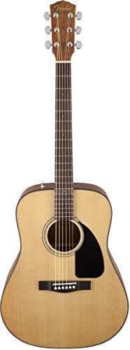 Fender CD-60 V3 Acoustic Guitar, Natural, Walnut Fingerboard
