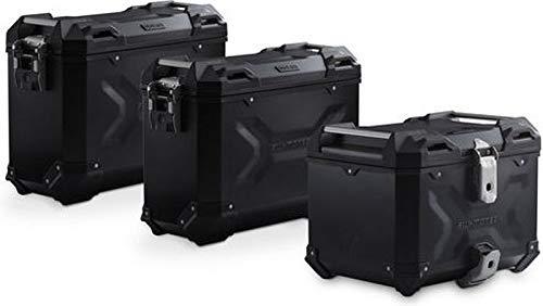 SW-MOTECH Adventure set Luggage Black. Triumph Tiger 1200 models (11-).   ADV.11.900.75000/B