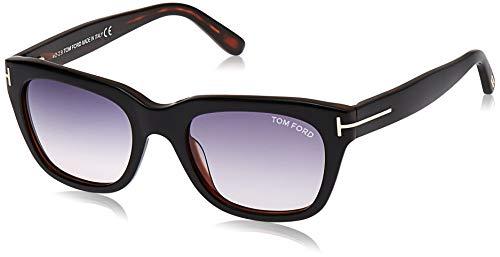 Tom Ford Ft0237 Montature, Black/Grey, 52 Uomo