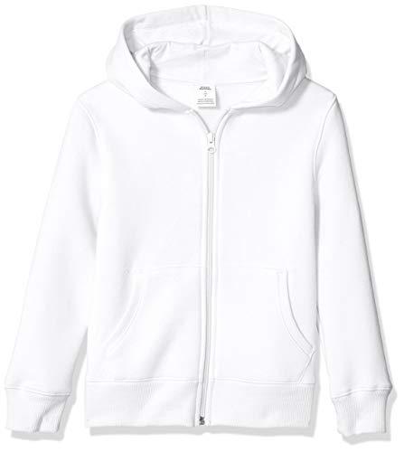 Amazon Essentials Fleece Zip-up Hoodie Fashion-Hoodies, Infradito Colorati Estivi, con finte Perline, Large