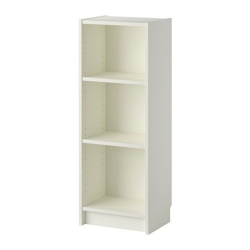 Ikea Billy Bücherregal in weiß; (40x28x106cm)