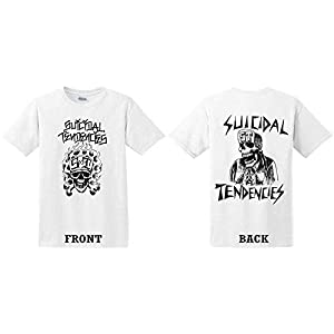 Suicidal Tendencies Official FlipSkull T-Shirt with Sticker