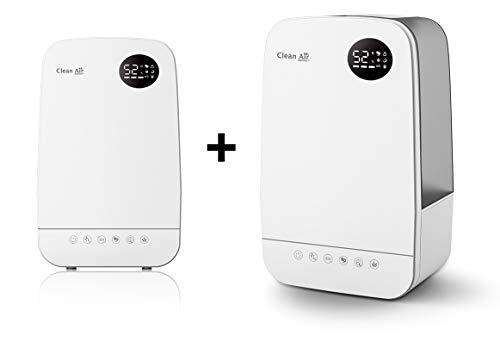 Clean Air Optima 2X \'\'Neues Modell\'\' 3in1 Luftbefeuchter mit Ionisator und Aromatherapie CA-606 - für kleine und größere Räume