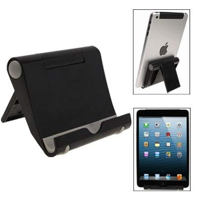S Suitable Peacock Adjustable Stand for iPad mini 1/2 / 3 (Color : Black)