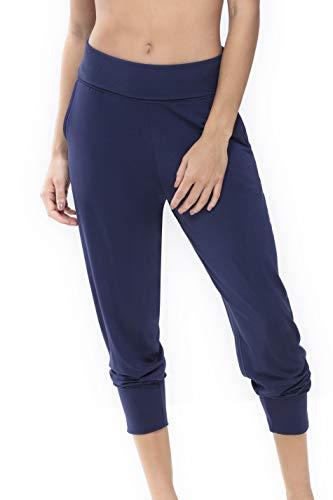 Mey Night Serie Sleepy & Easy Damen Yoga Pants Blau 38