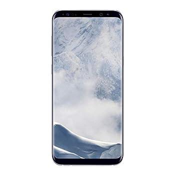 Samsung Galaxy S8+ 64GB Arctic Silver - Fully Unlocked  Renewed