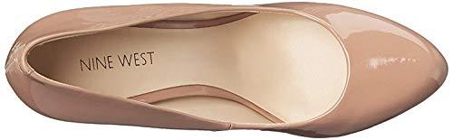 Price comparison product image NINE WEST Womens Kristal Closed Toe Platform Pumps,  Medium Natural,  Size 7.5