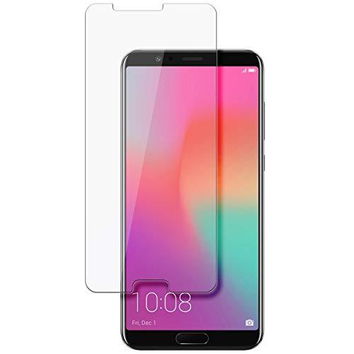 disGuard Schutzfolie für Huawei Honor View 10 [2 Stück] Kristall-Klar, Displayschutzfolie, Glasfolie, Panzerglas-Folie, Displayschutz, extrem Kratzfest, Schutz vor Kratzer, transparent