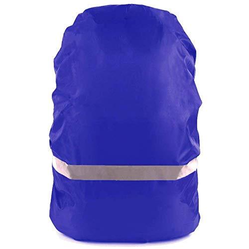 OrgaWise Rucksack Cover Waterproof, Sac a Dos Pluie pour 30-70L, avec Sangle à Boucle Transversale Antidérapante et Bande Réfléchissante, Idéale pour Les Activités de Plein Air