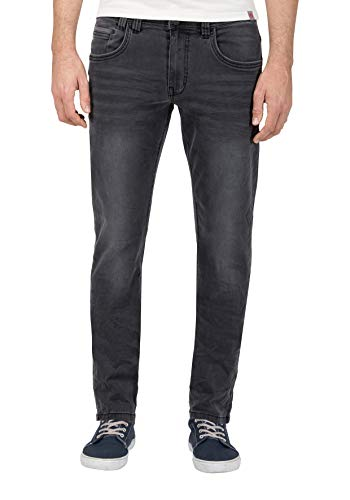 Timezone Regular Gerrittz Jeans Slim, Anthracite Shadow Wash 8650, W29/L32 (Taglia Produttore: 29/32) Uomo